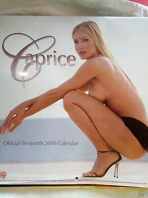 Rare Official Caprice Calendar 2000 Gc- Collectors Glamour Model Item • 19.50£
