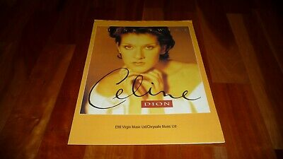 Celine Dion Think Twice Original Uk 1992 Sheet Music  • 11.99£