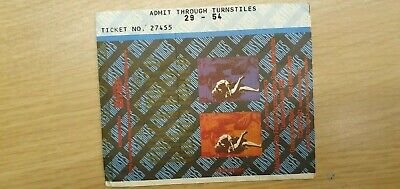 Guns N Roses Use Your Illusion Tour Concert Ticket Stub Maine Road 9th June 1992 • 54.99£