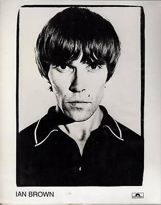 Ian Brown PROMOTIONAL PHOTO Stone Roses PROMO POLYDOR • 15.99£