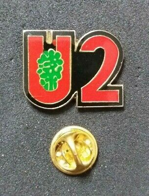 U2 Enamel Pin Badge The Joshua Tree Bono The Edge • 12.95£