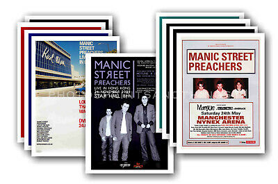 MANIC STREET PREACHERS - Promotional Posters - Collection Of 10 Postcards # 1 • 5.99£