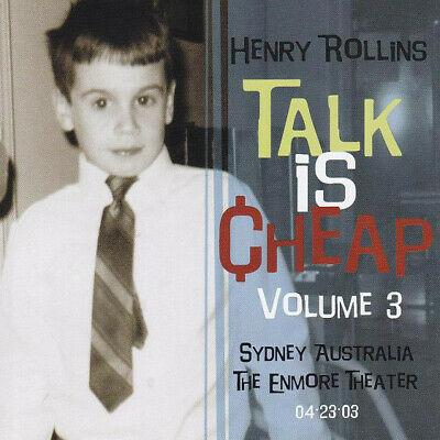 Henry Rollins - Talk Is Cheap, Vol. 3 (2xCD, Album) • 26.99£
