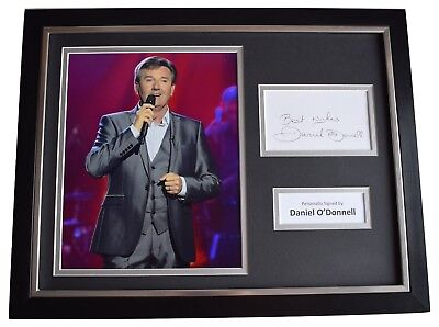 Daniel O'Donnell  Signed Framed Photo Autograph 16x12 Display Irish Music COA • 99.99£