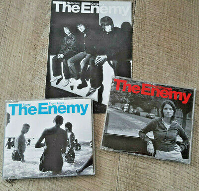 The Enemy 2 CDs And Fanzine 2007 Had Enough, Away From Here • 2.99£