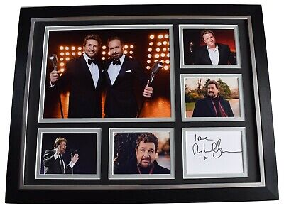 Michael Ball Signed Autograph 16x12 Framed Photo Display Music Alfie Boe & COA • 129.99£