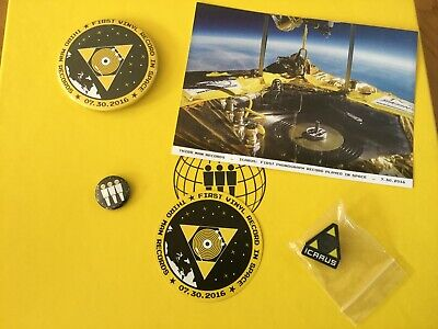 Third Man Records VAULT #30 Box & Pendant. Badges Pin Sticker & Post Card Icarus • 29.99£