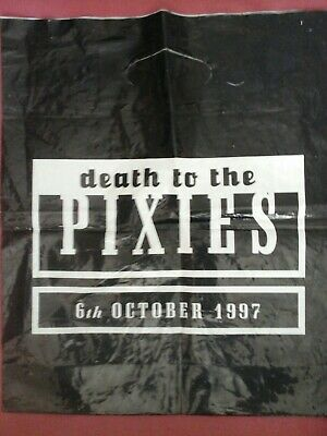Pixies-death To The Pixies Carrier Bag.  • 3.99£