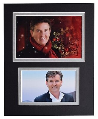 Daniel O'Donnell Signed Autograph 10x8 Photo Display Music Memorabilia AFTAL COA • 29.99£