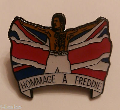 Queen Freddie Mercury Tribute Concert Rare Enamel Pin Badge • 14.99£