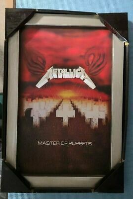 Metallica - 3d Wall Art / Picture  Master Of Puppets  Design - New • 100.16£