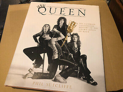 Queen The Illustrated History Heavy Hard Back Book Near Mint • 18£