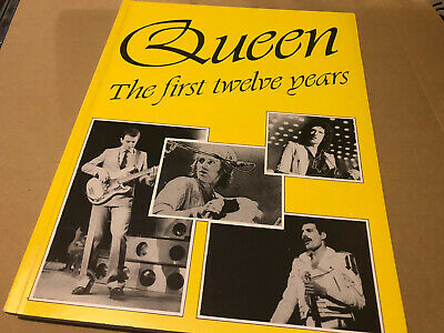 Queen The First Twelve Years Limited Softback Book Near Mint • 16.25£