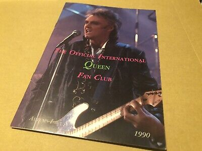 Queen Autumn 1990 Original Fanclub Magazine  (back Issues) • 6.25£
