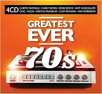 GREATEST EVER SEVENTIES (70's) 4 CD SET - 80 HITS (Released July 3rd 2020) • 6.95£