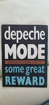 Depeche Mode Some Great Reward Tour Programme 1983.Good Condition For Age! • 26£