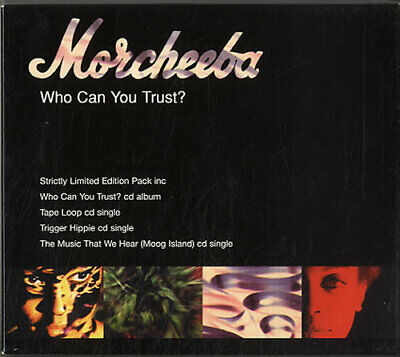 Morcheeba Who Can You Trust UK Box Set ZENOO9CD INDOCHINA 1996 • 37.99£
