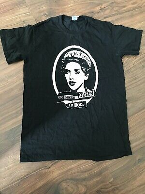 Courtney Love God Save The Queen Of Rock T-shirt Mens Size M • 4.20£
