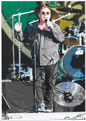 ALI CAMPBELL AUTOGRAPH UB40 HAND SIGNED  12x8  PHOTO LABOUR OF LOVE • 14.99£