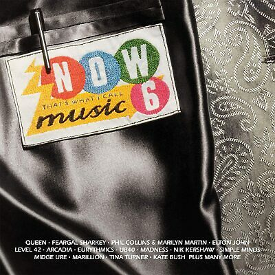 NOW THAT'S WHAT I CALL MUSIC! 6 2-CD (New Release July 24th 2020) IN STOCK • 10.92£
