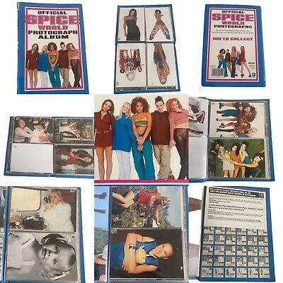 Spice Girls Official Spice World Photograph Album With 68 Photographs • 25£