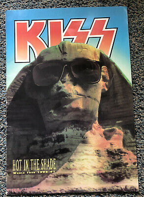 Vintage Kiss Tour Programme Hot In The Shade 1990-91 • 29.99£
