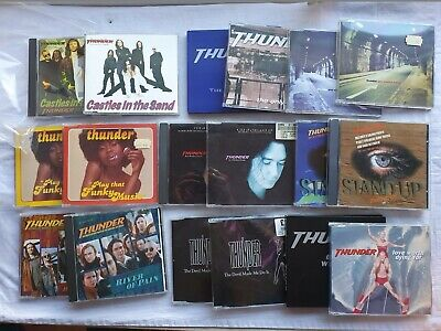 Thunder  Large Original Rock Cd Single Collection  All Superb Some Promos • 20£