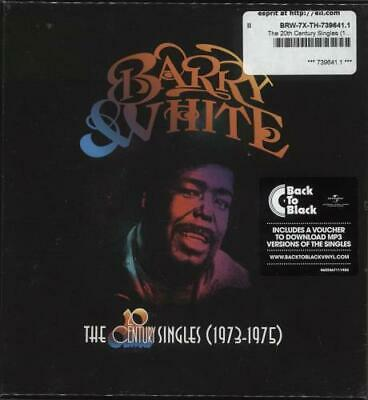 The 20th Century Singles (1973-1975) - Sealed Barry White 7  Box Set UK • 53.24£