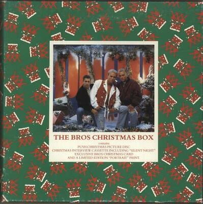 Bros The Christmas Box Box Set UK 4606290 CBS 1988 • 30.30£