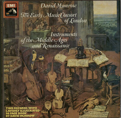 Early Music Consort Of London Vinyl Box Set Instruments Of The Middle Ages And • 25.30£