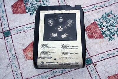 Queen - Queen Ii - Uk 8-track Tape 1974 • 4.50£