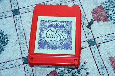 Chicago - Vi - Us 8-track Tape 1973 • 4£