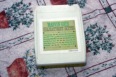 Marvin Gaye - Greatest Hits - Us Tamla 8-track Tape - 1968 • 10£