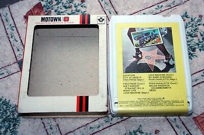 The Miracles - City Of Angels  - Canada  Tamla 8-track Tape - 1975 + Case • 10£