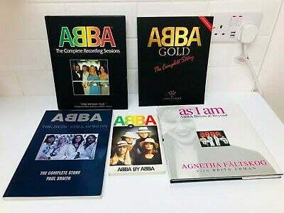 Abba Collection Books Gold The Music Still Goes On Complete Recording Sessions • 24.99£