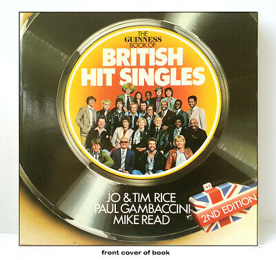 GUINNESS BOOK OF BRITISH HIT SINGLES – RARE 2nd EDITION 1979 (paperback Edition) • 3£