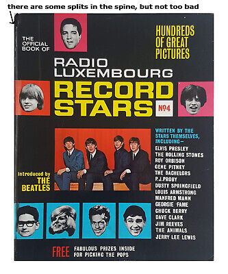 RADIO LUXEMBOURG BOOK OF RECORD STARS No. 4 – 1965 • 3£