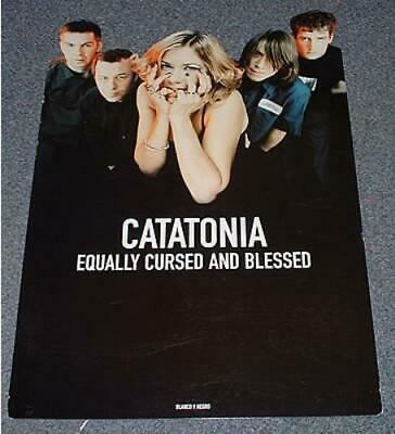 Catatonia Equally Cursed And Blessed UK Display Promo DISPLAY BLANCO Y NEGRO • 29.85£