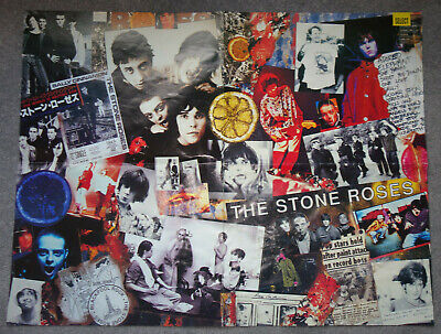 Rare Stone Roses Collage Poster -  • 0.10£