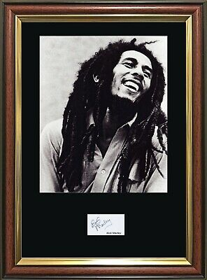 Sale! BOB MARLEY Signature - Quality Framed Photo - Multi-Variation Listing. • 19.99£