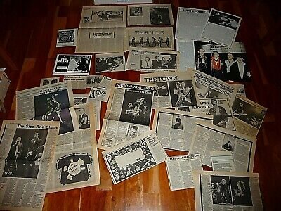 The Clash Lot Of Original Cuttings 1977 To  1981 Punk  • 14.99£