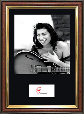 AMY WINEHOUSE Signature - Quality Framed Photo - Multi-Variation Listing.  • 19.99£