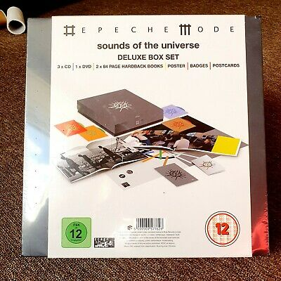 Depeche Mode - Sounds Of The Universe - Brand New - Deluxe Box Set  • 120£