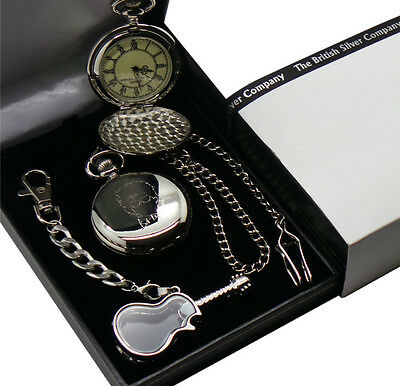 BOB DYLAN Signed Pocket Watch Autographed And Glass Guitar Keyring Gift Case • 29.99£