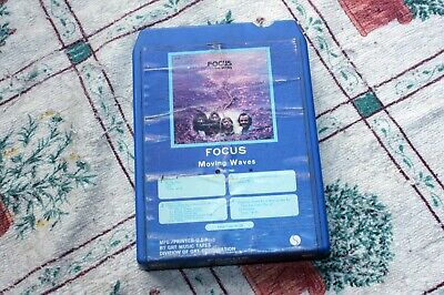 Focus - Moving Waves - Us Rock 8-track Tape 1971 • 4£