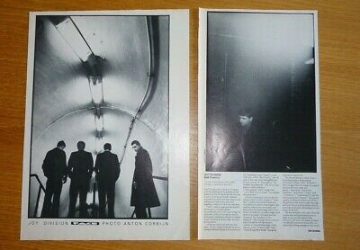 Joy Division Still 1981 Magazine Review + Full Page Band Photo  23/30cm Cutting  • 6.99£