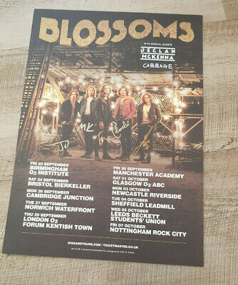 Blossoms Signed Poster • 19.99£