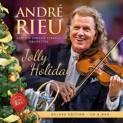 ANDRE RIEU JOLLY HOLIDAY CD & DVD (New Release November 13th 2020) PRE-ORDER NOW • 10.95£