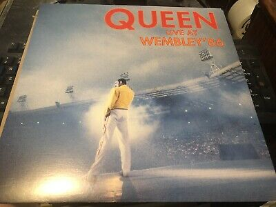 Queen Live At Wembley 86 1986 Rare Usa Promo Import Promo Card Nr Mint • 8£