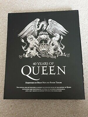 40 Years Of Queen Book • 15£